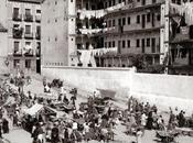 Fotos antiguas Madrid: Corrala Mesón Paredes (1935)