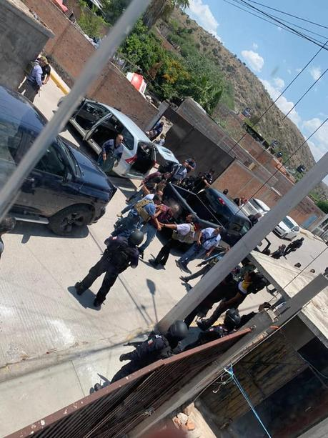 Con operativo policial,ejecutan ordenes de aprehensión en Villa de Reyes
