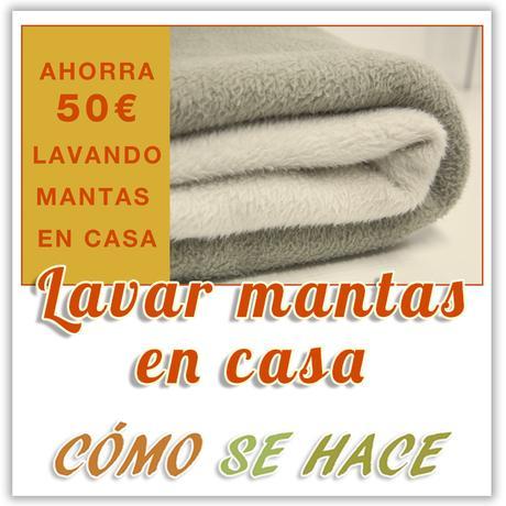 LAVAR MANTAS EN CASA