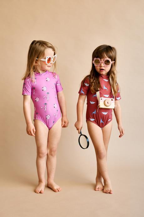 Élise et Sardine, bañadores con protección UPF50+