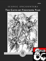 The Gates of Firestorm Peak (AD&D 2.5, 1996), por Bruce Cordell
