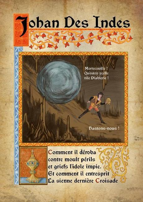 Carteles de películas, estilo medieval (Simon de Thuillières)