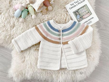 Chaqueta de Crochet Ginger –  Patrón y Tutorial