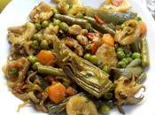 Cazuela verduras sepia