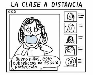 La clase a distancia (historieta)l