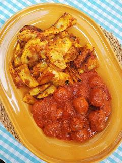 Albóndigas con tomate sin leche, sin huevo y sin gluten