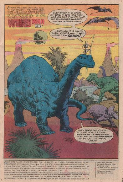 Los bélicos dinosaurios de Bob Kanigher