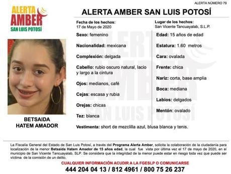 Alerta Amber: desaparece joven de 15 años en San Vicente Tacuayalab