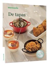 libro de cocina para convertirte en un experto en tapas utilizando la thermomix
