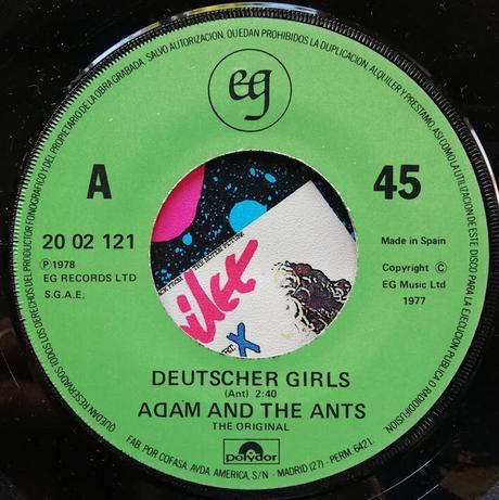 (The Original) Adam & The Ants - Deutscher Girls 1978 (1982)