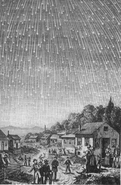 La mayor lluvia de meteoros de todos los tiempos