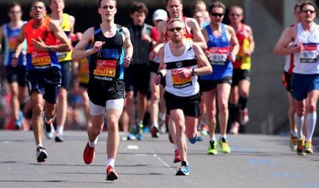 maratón de correr