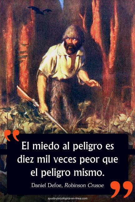 Frase Robinson Crusoe