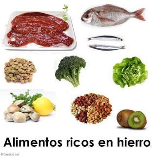 La importancia de el hierro en la dieta de los peques.