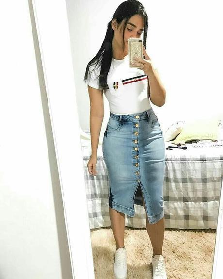 Faldas Jeans Juveniles