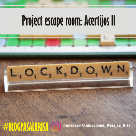 Project escape room: Acertijos II