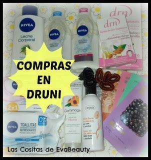 compras haul low cost belleza y cosmética en Druni ofertas