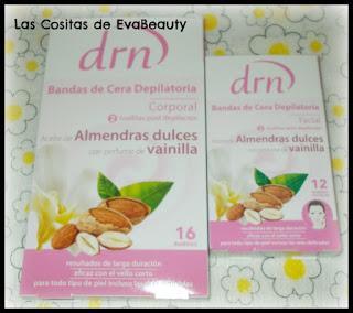 Bandas de cera depilatoria DRN