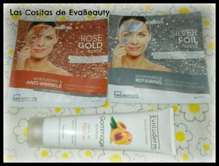 mascarillas faciales idc institute y exfoliante evoluderm