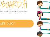 Pizarra blanco -Whiteboard.fi compartir clase