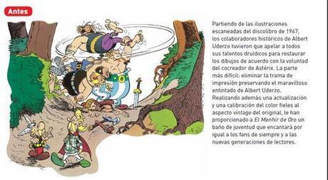 """""""El Menhir de Oro"""", de René Goscinny y Albert Uderzo"""