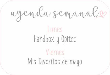 Agenda Semanal 25/05 - 31/05