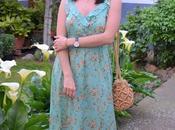 Maxi vestido romántico tirantes