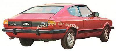 Ford Taunus GT SP 1981-1983