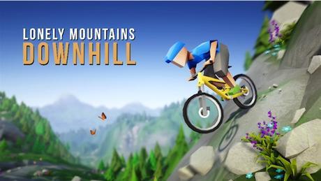 Bajando montañas peligrosas con Lonely Mountains: Downhill