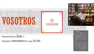 Presentación online: 'Vosotros', de Juan José Cerezo