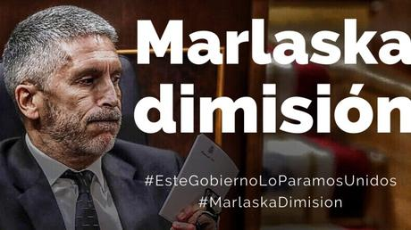 La dimisión de Marlaska es vital para España