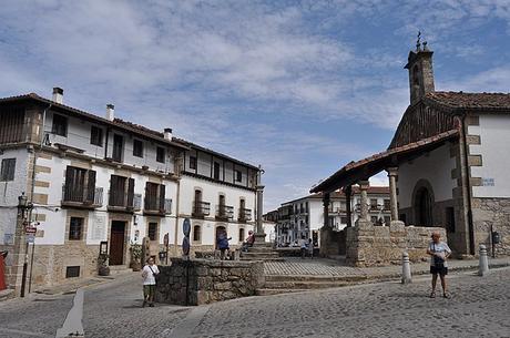 turismo de cercanía en Salamanca, plaza de Candelario