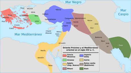 La plaga hitita, la primera guerra biológica conocida