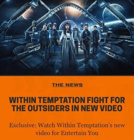 uN Vídeo antes del nuevo disco de within temptation