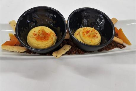Hummus de garbanzos. Receta tradicional