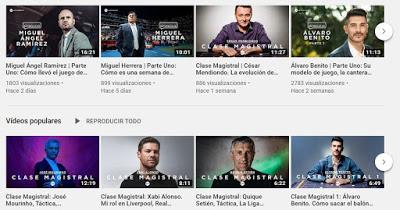 Canal youtube recomendado: The Coaches´ Voice