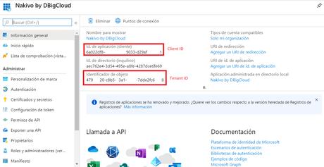 Nakivo Office 365 configuración