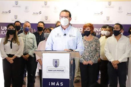 Ayuntamiento de SLP anuncia plan para retomar actividades