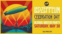 Led Zeppelin directo Celebration Day en Youtube este sábado 30 de Mayo