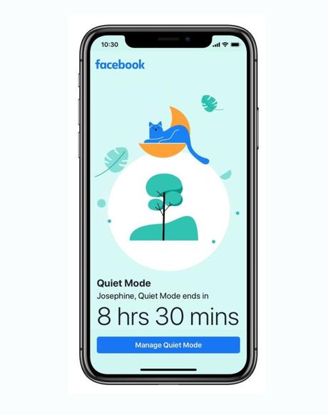 Administra tu tiempo en Facebook con el Modo Silencioso