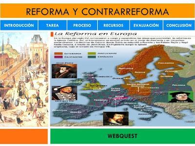 2 B. Reforma Protestante y Contra Reforma