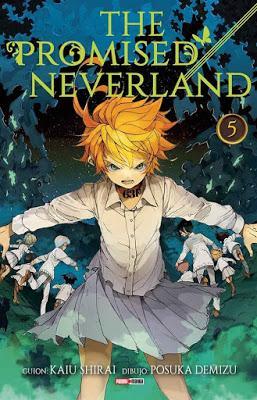 Reseña de manga: The promised Neverland (tomo 5)