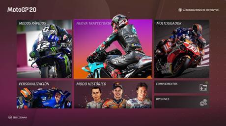 Análisis MotoGP 20 – Arrancando motores