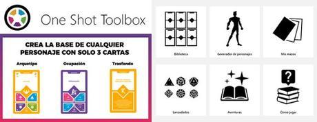 One Shot Toolbox, de Yannick García y Elías Gómez