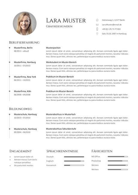 Lebenslauf Template Download Dass Sie In Ms Word Für Ihre Wunderbar Pläne ändern