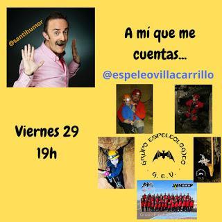Espeleología y Santi Rodríguez
