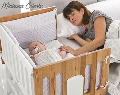 mejor minicuna colecho para dormir junto al bebe