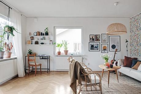 wallpaper scandinavian wallpaper scandi kitchen renovar cocina con papel pintado papel pintado flores Papel pintado papel pared cocina papel de pared floral papel de pared kitchen wallpaper floral wallpaper english wallpaper