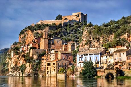 turismo de cercanía en Tarragona, vistas de Miravet