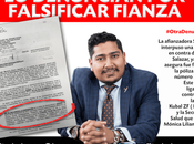 Gabo Salazar denunciado falsificar fianza